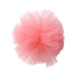 Charlotte's Dress Hairclip Pon Pon Fucsia