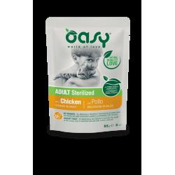 Oasy Cat Adult Busta Sterilized Bocconcini in Salsa - Pollo 85g