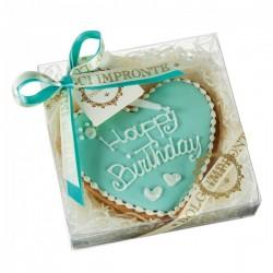 Dolci Impronte Biscotto Cuore Happy Birthday - Tiffany