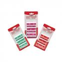 Sacchetti di ricambio colorati - 3 Rotoli x pz.20