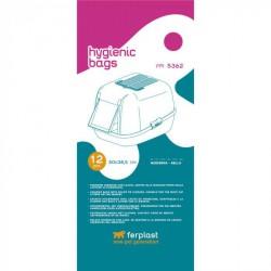 Fpi 5362 Sacchetti Igienici per lettiera confezione da 12