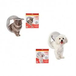 IN&OUT Universal – Porta basculante per gatti grandi e piccoli cani - Trasparente