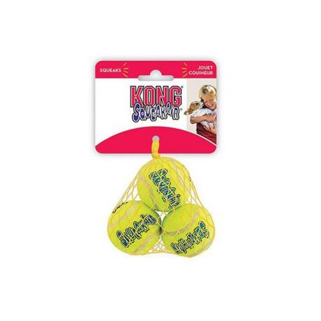Kong Air Squeaker Ball Small (3 Pz)