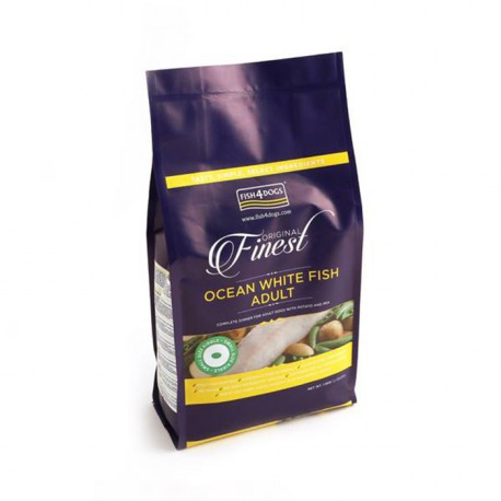 Fish 4 Dogs Ocean Pesce Bianco Smallkibbl 1.5 Kg.