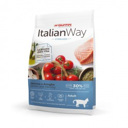 ItalianWay Cat Sterilized Adult - Salmone e Aringa