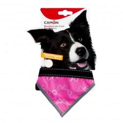 Camon Collare Bandana Reflex - Rosa