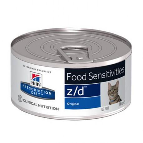 Hill's Cat Z/d ipoallergenico 156g