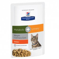 Hill's Cat Metabolico e vie urinarie Buste 70 Gr