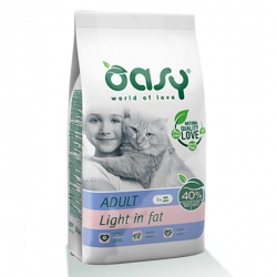 Oasy Cat Adult Light in Fat