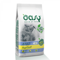 Oasy Cat Adult Hairball - Boli di pelo