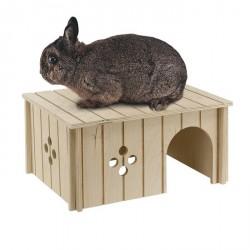Sin 4646 Large Casetta Coniglio in legno