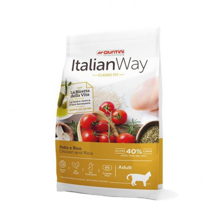 ItalianWay Cat Pollo Riso 400g