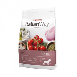 ItalianWay Dog Sensitive Adult Medium Grain Free - Anatra