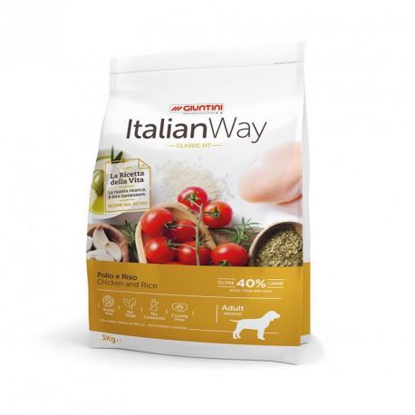 ItalianWay Dog Medio Pollo Riso sacco
