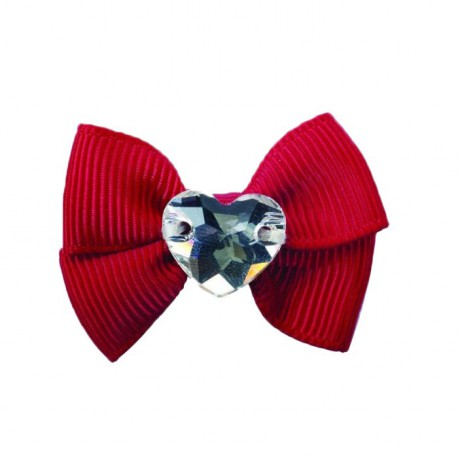 Hair Clip Grace Rosso Tag Unica