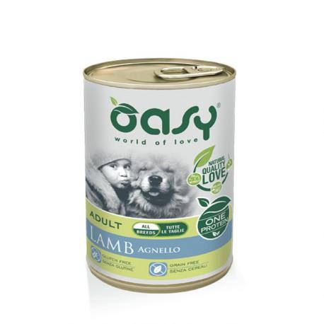 Oasy Cane lattina 400g Agnello