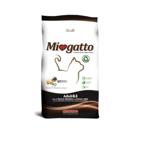 Miogatto Adult 0.3 Con Vitello Orzo