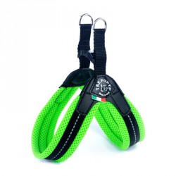 Tre Ponti Pettorina Easy Fit in Rete Fluo Chiusura Plastica - Verde