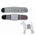 Camon Fascia per Cani Maschi incontinenti colore GRIGIO