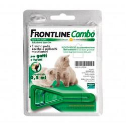 Frontline Combo Gatti e Furetti Spot-on 1 Fiala