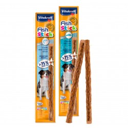 Vitakraft Fish Stick Pesce Salmone o Trota 80g snack premio cane
