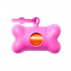United Pets Bon Ton Classic Dispenser Sacchetti - Colore Rosa