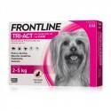 Frontline tri-act antiparassitario spot-on Merial peso cane 2-5 Kg