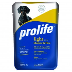 Prolife Busta Light Mini Pollo e Riso 100g
