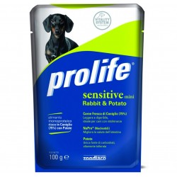 Prolife Busta Sensitive Mini Coniglio 100g