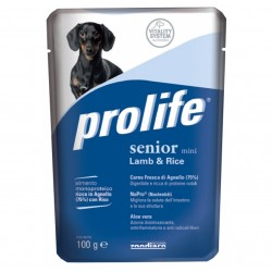Prolife Dog Busta Senior Mini Agnello e Riso 100g