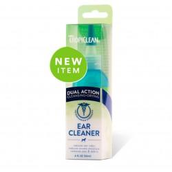 Tropiclean Ear Cleaner Detergente sciogli cerume per orecchie cane 118ml