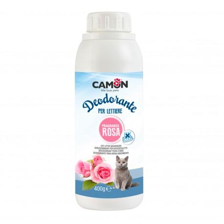 Camon Deodorante Lettiera alla Rosa 400g