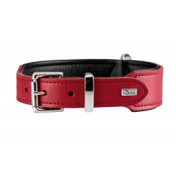 Hunter Halsband Basic collare Rosso & Nero varie taglie