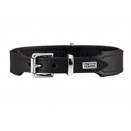 Hunter Halsband Basic Collare Nero