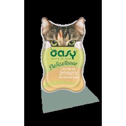 Oasy Cat Delicatesse pate' per gatto 85 g. SELVAGGINA
