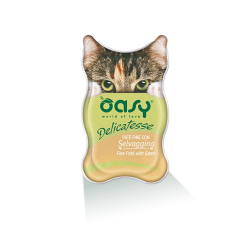 Oasy Cat Delicatesse pate' per gatto 85 g. SELVAGGINA