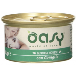 Oasy Cat Mousse Lattina Gr.85
