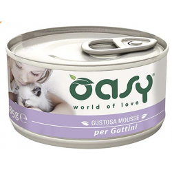 Oasy Cat Mousse Lattina Gattini Gr.85