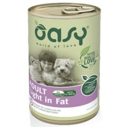 Oasy Dog Light in Fat Lifestage Gr.400