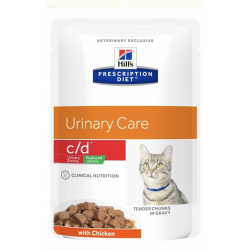 Hill's Cat C/d Urinary Stress - Reduced Calorie 85g