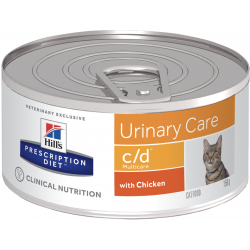 Hill's Cat C/d Multicare - Patè Pollo 156g