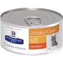 Hill's Cat C/d Multicare - Patè Pollo 156g