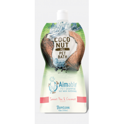 Tropiclean Aimable Pet Shampoo - Sweet Pea & Coconut