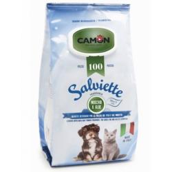 Camon Salviette Muschio e Aloe Maxi Formato 100 pezzi