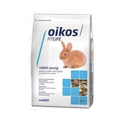 Oikos Fitlife Rabbit Young Gr.600