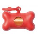 United Pets Bon Ton Classic Dispenser Sacchetti - Colore Rosso