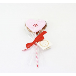 Dolci Impronte Heart Lollipopo 40 Gr