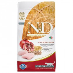 N&d Gatto Ancestral Grain Pollo e Melograno