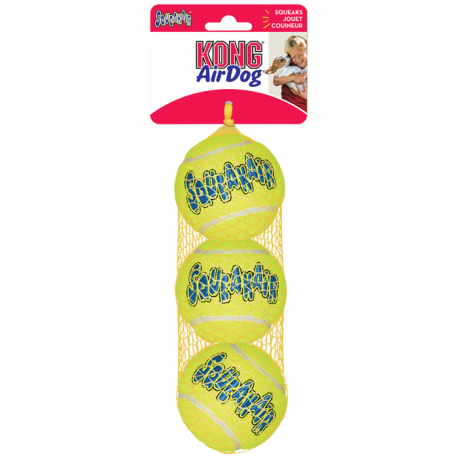 Kong Air Squeaker Ball Medium (3 Pz)
