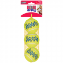 Kong Airdog Squeakair Ball Set 3 Palline Medium per cane